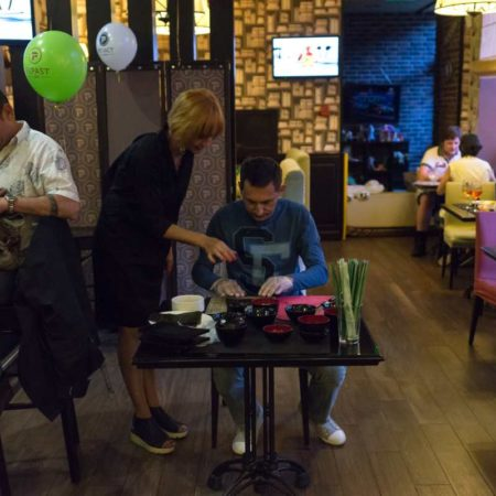 день рождения кафе